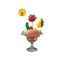 Fruta surtida pincho
