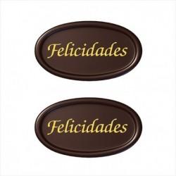 LETRERO FELICIDADES...