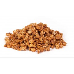 Nueces en grano acaramelados