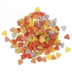 Confetis corazones